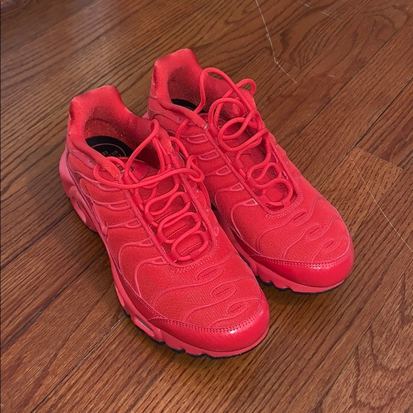 best supplier footwear special section Nike TN air max size 9 red